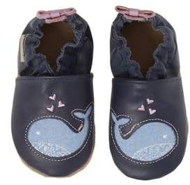 Robeez R) Poppy Whale Crib Shoe