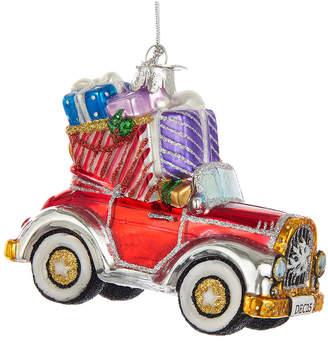 Kurt Adler Noble Gems Glass Christmas Car Ornament