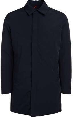 Museum Capital Blue Nylon Coat