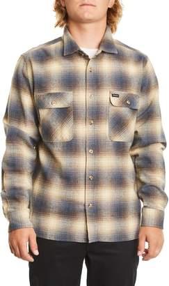 Brixton Archie Neppy Ombre Plaid Sport Shirt