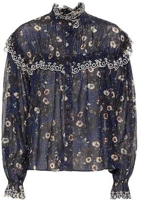 Etoile Isabel Marant Isabel Marant, Étoile Printed cotton blouse