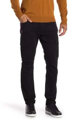 Hudson Jeans Greyson Cargo Biker Skinny Fit Jeans (Black)