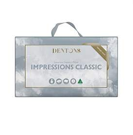 Dentons Impressions Classic Memory Foam Pillow