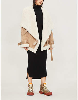 SHOREDITCH SKI CLUB Sofia turtleneck cashmere dress