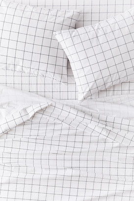 Urban Outfitters Distressed Mini Check Sheet Set