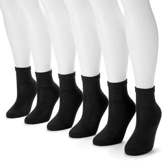 Hanes 6-pk. Ultimate Core Ankle Socks - Women