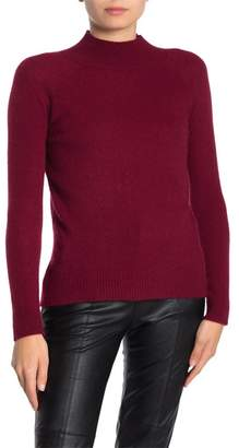 Magaschoni M BY Mock Neck Cashmere Pullover