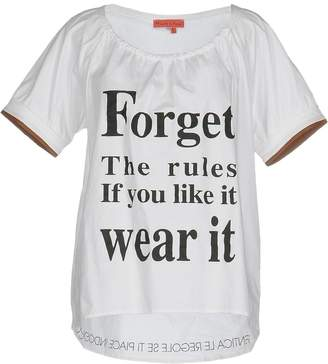 Manila Grace DENIM T-shirts