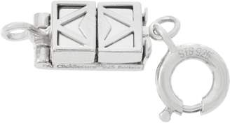Clicksecure Click Secure Sterling Silver Self-Locking Magnetic Clasp