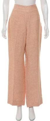 Akris High-Rise Linen Pants