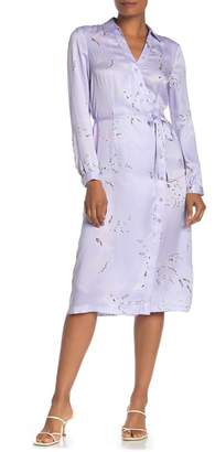 Equipment Fabienne Floral Silk Blend Midi Dress