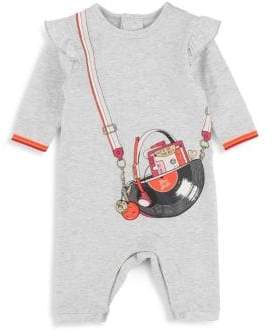 Little Marc Jacobs Baby Girl's Purse Graphic Onesie