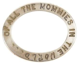"Heather B Moore 925 Sterling Silver "" Of All The Mommies In The World"" Charm Pendant"