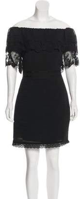 ALICE by Temperley Off-The-Shoulder Mini Dress