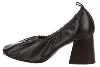 Celine Leather Ballerina Pumps