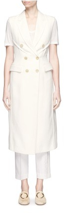 3.1 Phillip Lim 3.1 Phillip Lim Sculpted waist double breasted sleeveless coat