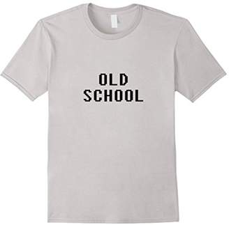Old School t shirt - 8 Bit Retro type tee