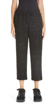 Comme des Garcons Wool & Tweed Combo Crop Pants