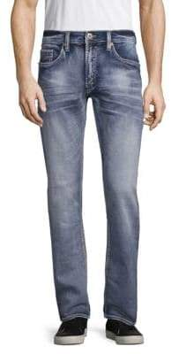Buffalo David Bitton Evan Faded Stretch Jeans
