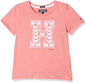 Tommy Hilfiger Girl's M Butterflies H Cn Knit S/s T-Shirt
