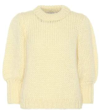Ganni The Julliard mohair-blend sweater