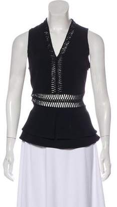Jonathan Simkhai Sleeveless V-Neck Top