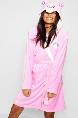 953fd1c931 boohoo Care Bear Hooded Dressing Gown