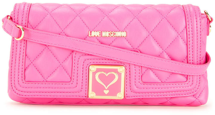 Love MoschinoLove Moschino quilted shoulder bag