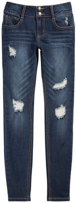 Vanilla Star Big Girls Distressed Skinny Jeans