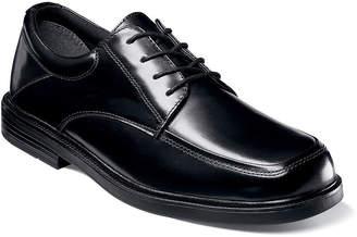 Nunn Bush Jennings Men's Moc Toe Dress Oxford Shoes