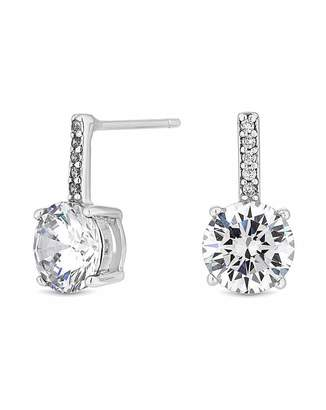 Jon Richard Simply Silver By Simply Silver Bar Drop Earring