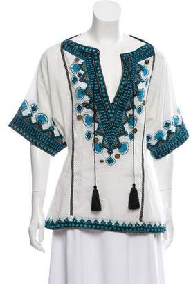 Talitha Embroidered Top