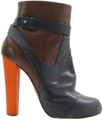 Aquazzura Leather Boots