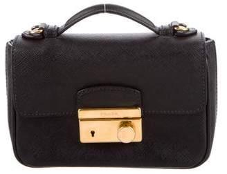 Prada Saffiano Sound Crossbody Bag