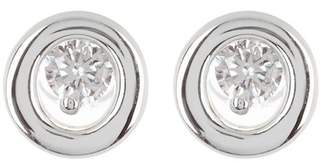 Bony Levy 18K White Gold Diamond Round Stud Earrings - 0.09 ctw