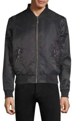 The Kooples Zip Bomber Jacket