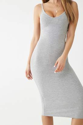 Forever 21 V-Neck Cami Midi Dress