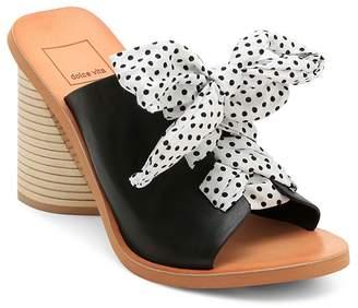 Dolce Vita Amber Leather Slide Sandals