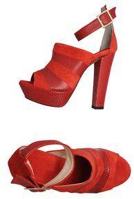 Space Style Concept Platform sandals