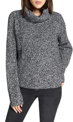Sanctuary Cowl Neck Shaker Sweater