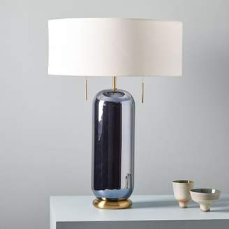 west elm Ellipse Glass Table Lamp