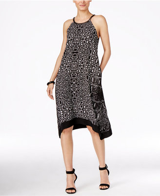 Alfani Chain-Neck Halter Dress, Only at Macy's $99.50 thestylecure.com