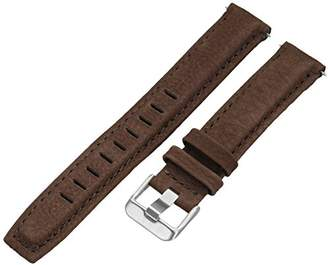 Voguestrap TX86718BN Allstrap 18mm Leather-Synthetic Watch Strap