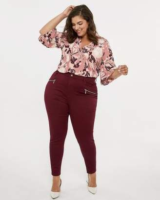 Penningtons ONLINE ONLY - Tall Savvy Fit High Waisted Skinny Jean Legging - In Every Story