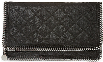 Stella McCartney Falabella quilted Clutch Bag