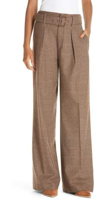 Polo Ralph Lauren Relaxed Wide Leg Tweed Pants