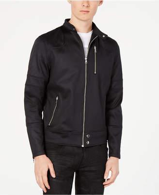 INC International Concepts I.n.c. Men Zip-Front Fight Jacket