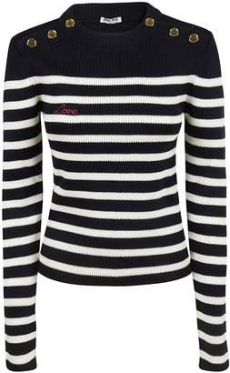 Miu Miu Sacai Striped Shirt