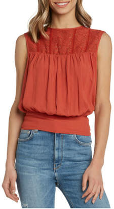 Willow & Clay Soft gauzy top