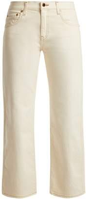 KHAITE Wendall cropped denim jeans